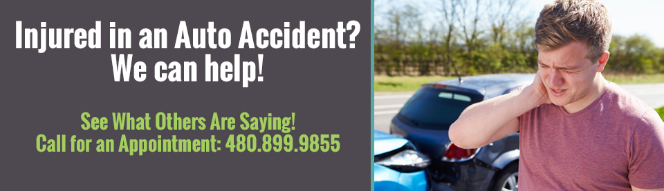 Chandler Chiropractic Helps Injuries from Auto Related Accidents